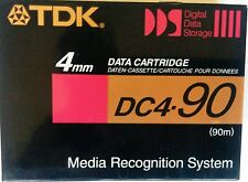 CINTA VIRGEN DAT AUDIO (90m.)  y DATOS 4mm.TDK DC-4 90