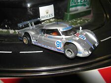 Riley Mk XI Slot Car with Pro Comp Brass Chassis 1/32 Scale