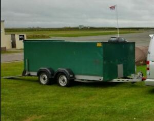 Car Transporter Trailer Covered Twin Axle Braked Made by Brian James