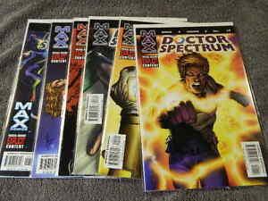 2004 MARVEL Comics DOCTOR SPECTRUM #1-6 Complete Set Marvels GREEN LANTERN NM/MT