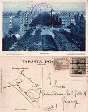 GUERRA CIVIL ESPAÑOLA - BARCELONA - RARA CARTOLINA - 1940 - CENSURA MILITARE