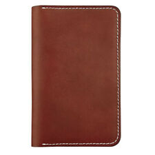 Red Wing Passport Wallet Unisex Red Mahogany