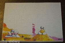 Diddl Block Blatt A4 SONDER-/FEHLDRUCK A5 Nr. 13 und 18 zusammenhängend RARITÄT