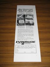 1966 Print Ad Evinrude Outboard Motors for Fishing Milwaukee,WI