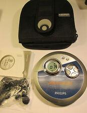 Philips AX33003/052 Portable Lecteur CD avec MANUEL & Case