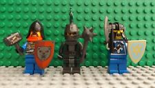 3 LEGO Brand New Knight Knights Castle Mini Figures Fight Shields Weapons (5)