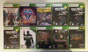 New XBox 360 Games You Pick - Brand New - Free Sticker - US Seller