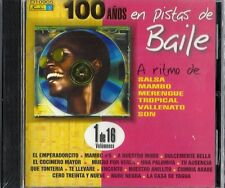 100 Años En Pista de Baile  Latin Music CD