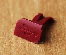 ORIGINAL NOKIA 6300/6301 USB-COVER, USB-ABDECKUNG, ROT (NEU, 9902226)