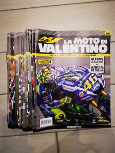 De Agostini La Moto Di Valentino Rossi Scala 1:4 COMPLETA!!!! Tutte le 92 uscite