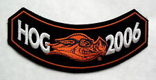 """USED"" 2006 HARLEY DAVIDSON OWNERS GROUP HOG CHAPTER PATCH"