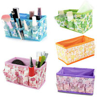 HOT Folding Multifunction Makeup Cosmetic Storage Box Container Case Bag Home