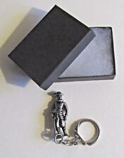 F) KEYRING PEWTER CIVIL WAR CAVALIER (A) FIGURE ROYALISTS ROUNDHEADS PARLIAMENT