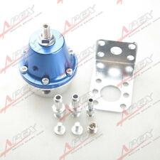 Universal Adjustable Fuel Pressure Regulator Aluminum Blue