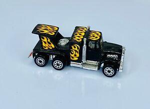 Vintage Kenner FAST 111's Diesel Demon Black W/Flames Semi Truck Hong Kong 1980