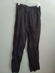 L.L. Bean black Nylon Shell Snow Pants Women Size Small