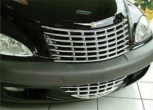 Chrysler PT Cruiser CHROME Grill Cover 2001-2005 PRE-FACELIFT MODEL