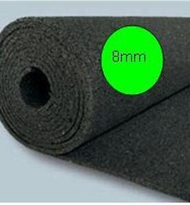 10m² Bautenschutzmatten BM 1,25 x 8  Gummimatte für Holzterrassen, 8mm preis