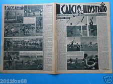 1947 il calcio illustrato n. 52 modena bologna fiorentina alessandria sampdoria