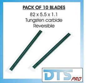 10X Reversible Planer Blades/Knives (Bosh, Fein, Hitachi, Makita, Metabo, Skil)