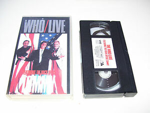 The Who - Live Tommy The Rock Opera * VHS VIDEO 1999 *