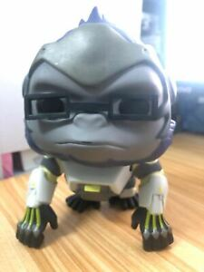 POP Video Game Overwatch Toys -   Winston #97 PVC Action Figure Without Box