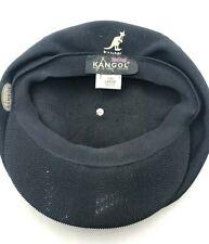 Kangol Spitfire Black Original Authentic Tropic Brim Apple Style Cap Hat 0289