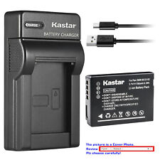 Kastar Battery Slim Charger for Leica BP-DC7 BC-DC7 & LEICA V-LUX 20 Camera