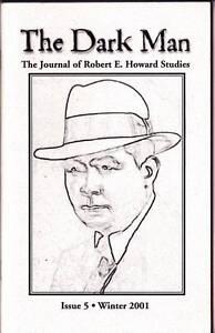 Fanzine THE DARK MAN #5 The Journal of Robert E. Howard Studies (2001) 153/320