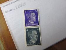 EBS Germany 1941 Hitler Zusammendrucke / se-tenant pair Michel S292 MNH**
