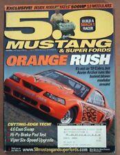 5.0 MUSTANG 2003 SEPT - TURBO V6, YATES, MODULAR CAMS