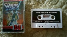 Energy Warrior Video Game Cassette Commodore 64 C64/C128 💜💜💜 FREE POST