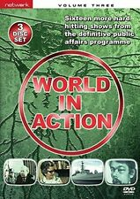 WORLD IN ACTION volume Three 3. 3 discs. New sealed DVD.