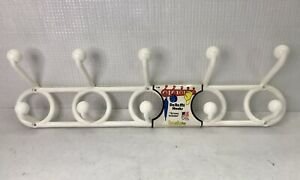 Retro NOS Yaffa Plastic DoReMi Hook Basic Line Wall Mount 10 Hook Hat Rack 1990