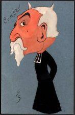 Henri Geoffroy dit Géo. Emile Combes. Vers 1904