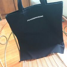 Kpop BigBang G-DRAGON PEACEMINUSONE Shopping Bag Shoulder Satchel School Handbag