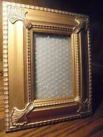 "Melannco Vintage Photo Frame Ornate Gold-Tone Decor Holds 4""x 6"" Picture      62"