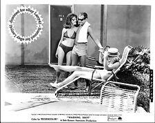 Lot of 7c, David Janssen, Stefanie Powers,Keenan Wynn stills WARNING SHOT (1967)