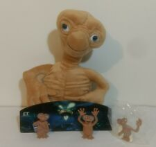 E.T The Extra-Terrestial Background PVC/Plush Figures Swiss Chalet 2002 Lot of 3