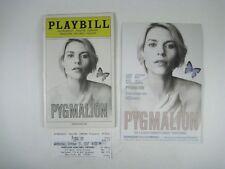 Pygmalion Playbill 2007 Roundabout Theatre Company Claire Danes Jefferson Mays
