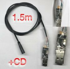 Bafang Programming Lead cable for BBS01, BBS02, BBS03/HD +CD 1.5m cable