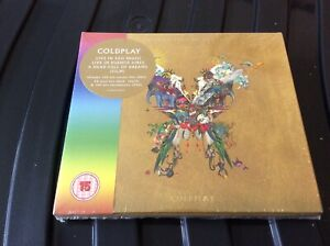 COLDPLAY - HEAD FULL OF DREAMS (2CD+2DVD) DELUXE SET NEW AND SEALED H1