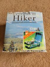 Vintage Swedish Optimus 111 - HIKER Multi Fuel Camping Stove - in original box!