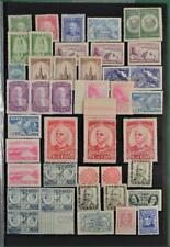 BRAZIL STAMPS SELECTION OF H/M ON 2 SIDES OF STOCK CARD   (F16)