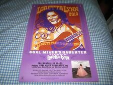 LORETTA LYNN-(a tribute-2010)-1 POSTER-11X17-NMINT-RARE