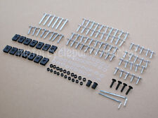 Silver Aluminum Fairing Bolts Kit Fastener Clips Screw Nuts Motorcycle Sportbike