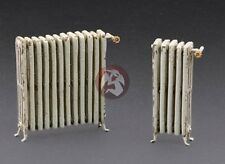 Royal Model 1/35 Cast Iron Indoor Heating Radiators (2 pcs, 5 & 12 Sections) 585
