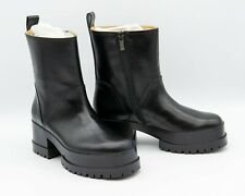 Robert Clergerie Black Leather Waldy Boots size EU 36.5 (US 6)