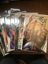 Young Avengers 9 issue lot (Marvel 2005) NM #2,3,4,5,7,8,9,11 plus One-Shot