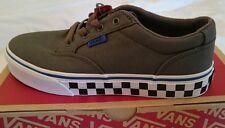 Vans Winston controllo Fox Peltro/Blu UK 1.5 Nuovo Con Scatola Ragazzi Ragazze Scarpe Da Ginnastica skateshoe